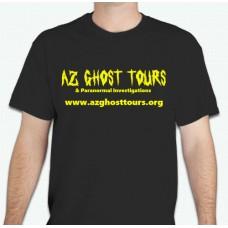 AZ Ghost Tours Tee Shirt Medium